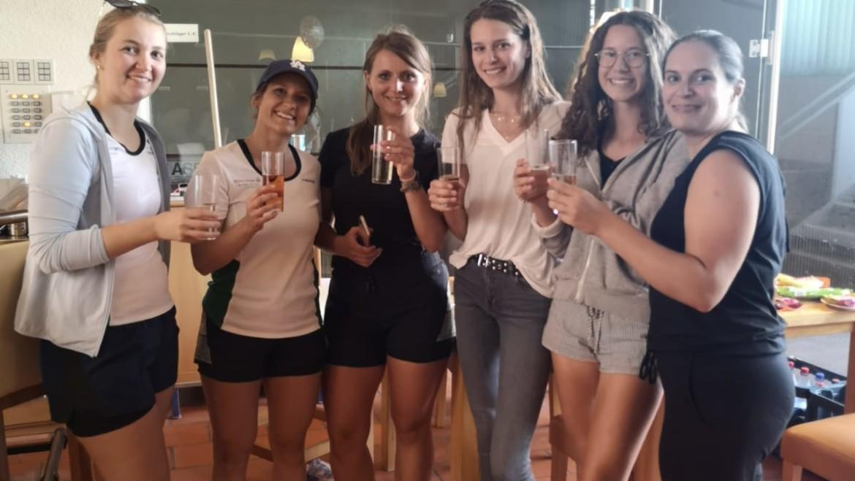 Gratulation auch an unser Damen-Team!